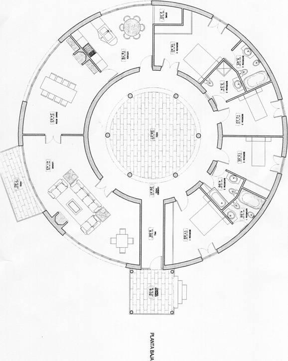 Thoughts gallery for Round houses plans